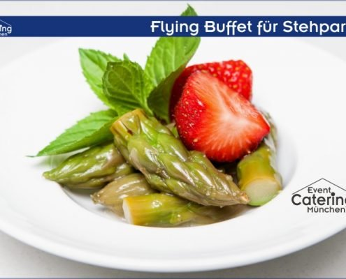 Flying Buffet Salat Catering Oberbayern