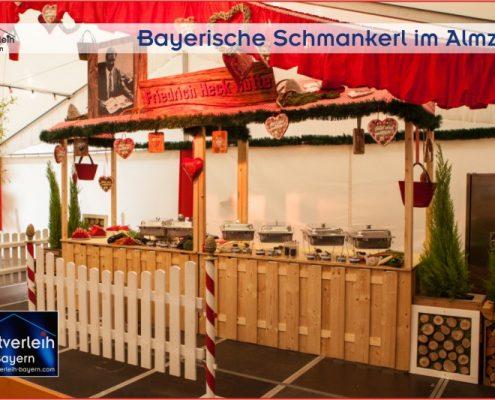 Die mobile Alm von Zeltverleih Oberbayern