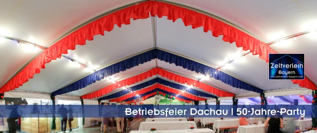 Firmenfeier im Zelt Zeltverleih Dachau Karlsfeld