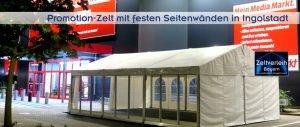 Promotionzelt von Zeltverleih Oberbayern und Ingolstadt