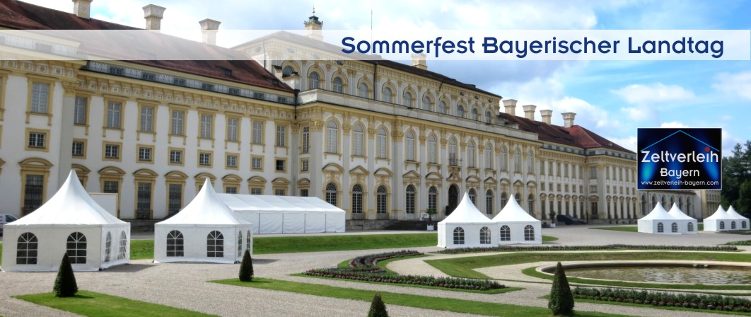 Events mit Zeltverleih Oberbayern und München