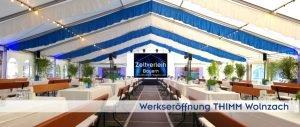 Eröffnungsfeier Zeltverleih Oberbayern und Pfaffenhofen