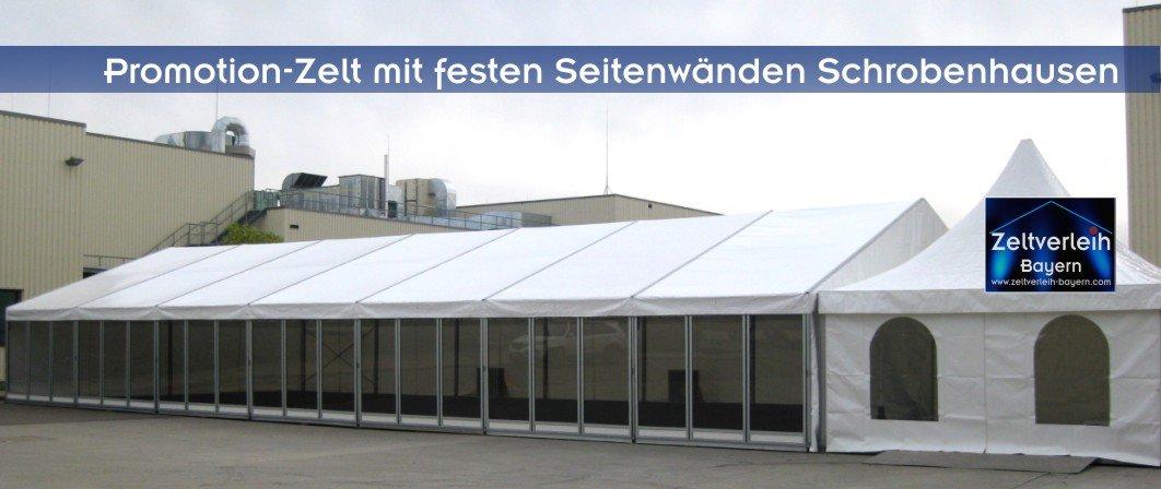 Hausmesse mit Zeltverleih Oberbayern und Schrobenhausen