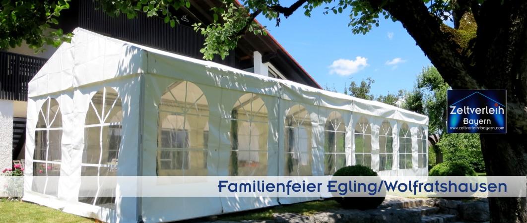 Gartenfest Zeltverleih Oberbayern und Wolfratshausen